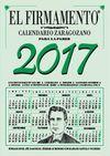 CALENDARIO ZARAGOZANO PARED 2017
