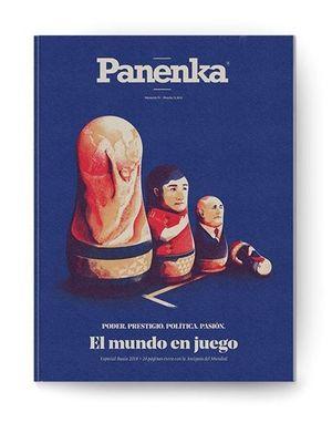 PANENKA Nº 75 . EL MUNDO EN JUEGO