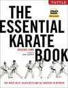 THE ESENTIAL KARATE BOOK FOR WHITE BELTS TO BLACK BELTS. DVD INCLUDED