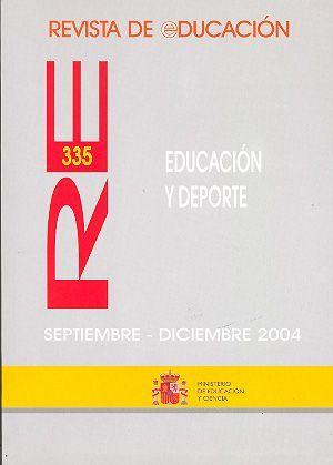 REVISTA DE EDUCACIÓN Nº 335 EDUCACIÓN Y DEPORTE