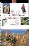 RUTAS EN BICI EN TORNO A MADRID