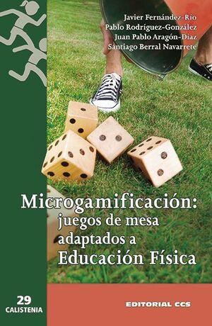 MICROGAMIFICACIÓN: JUEGOS DE MESA ADAPTADOS A EDUCACIÓN FÍSICA