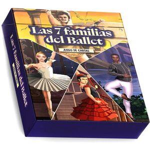LAS 7 FAMILIAS DEL BALLET (JUEGO DE CARTAS)