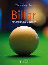 BILLAR: MODALIDAD A LA BANDA