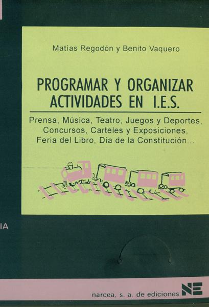 PROGRAMAR U ORGANIZAR ACTIVIDADES EN I.E.S.