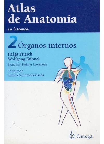 ATLAS DE ANATOMIA ESTUDIANTES Y MEDICOS TOMO II ORGANOS INTERNOS
