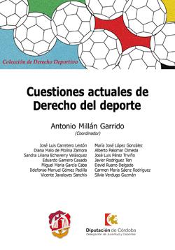 CUESTIONES ACTUALES DE DERECHO DEL DEPORTE