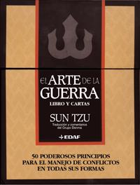 EL ARTE DE LA GUERRA LIBRO+CARTAS 50 PODEROSOS PRINCIPIOS PARA EL MANE