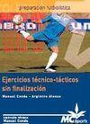 EJERCICIOS TÉCNICO-TÁCTICOS SIN FINALIZACIÓN 2 DVDs