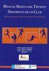 MANUAL BÁSICO DEL TÉCNICO DEPORTIVO DE UN CLUB. TODO LO QUE NECESITAS SABER