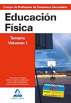 EDUCACIÓN FÍSICA TEMARIO VOLUMEN I SECUNDARIA