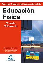 E.F. TEMARIO VOLUMEN III SECUNDARIA