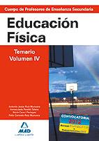 EDUCACIÓN FÍSICA TEMARIO VOLUMEN IV SECUNDARIA
