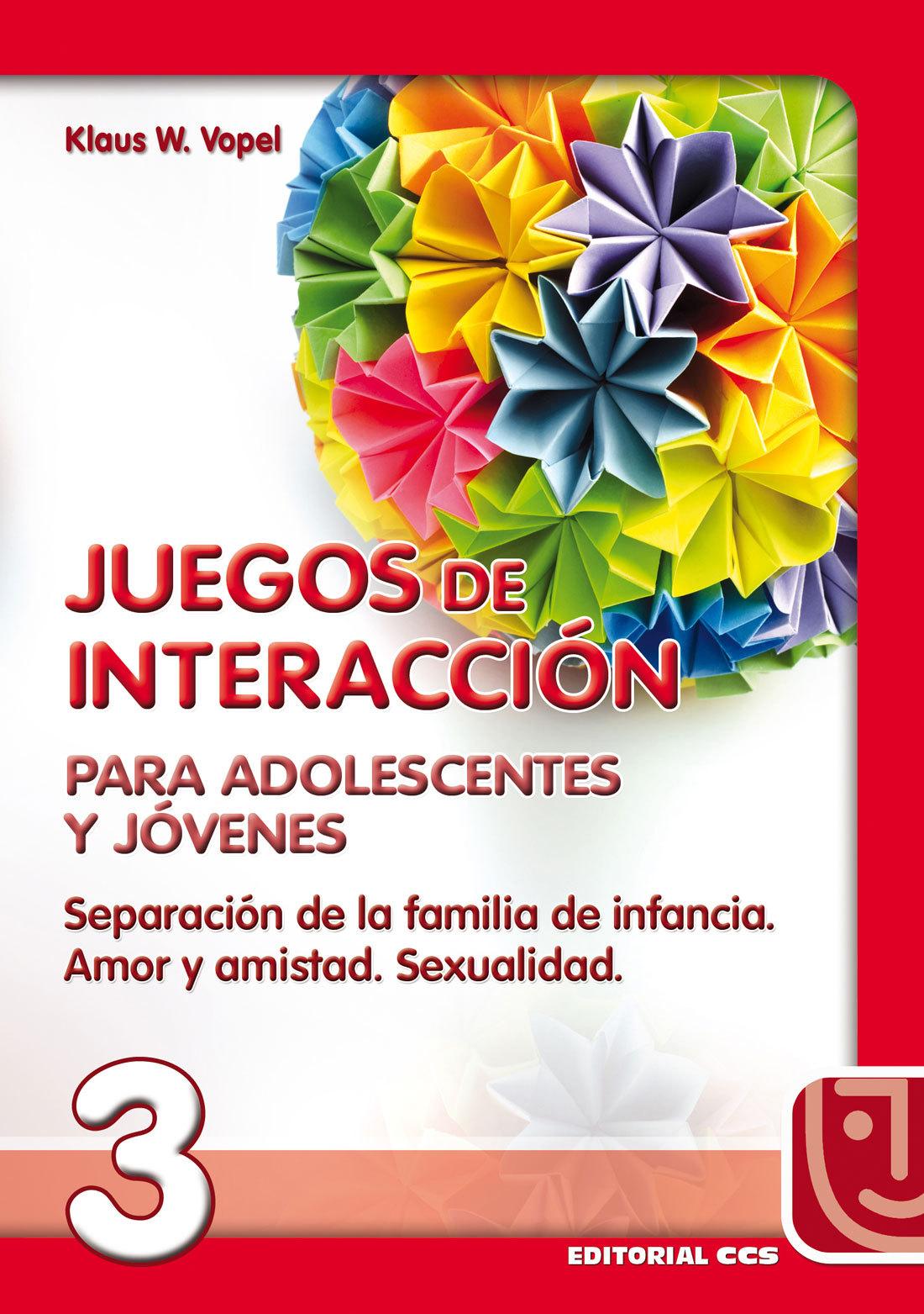 JUEGOS DE INTERACCION PARA ADOLESCENTES Y JOVENES Nº 3