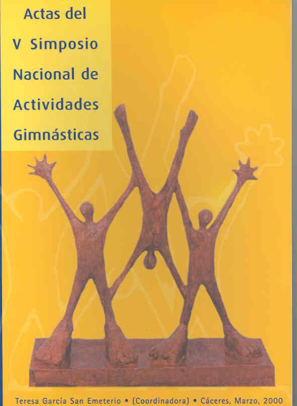 ACTAS DEL V SIMPOSIO NACIONAL DE ACTIVIDADES GIMNÁSTICAS