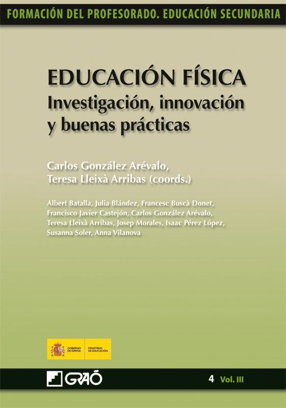 EDUCACIÓN FÍSICA. INVESTIGACIÓN, INNOVACIÓN Y BUENAS PRÁCTICAS