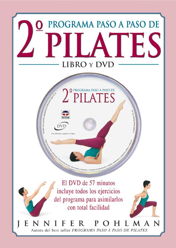 2º PROGRAMA PASO A PASO DE PILATES LIBRO+DVD