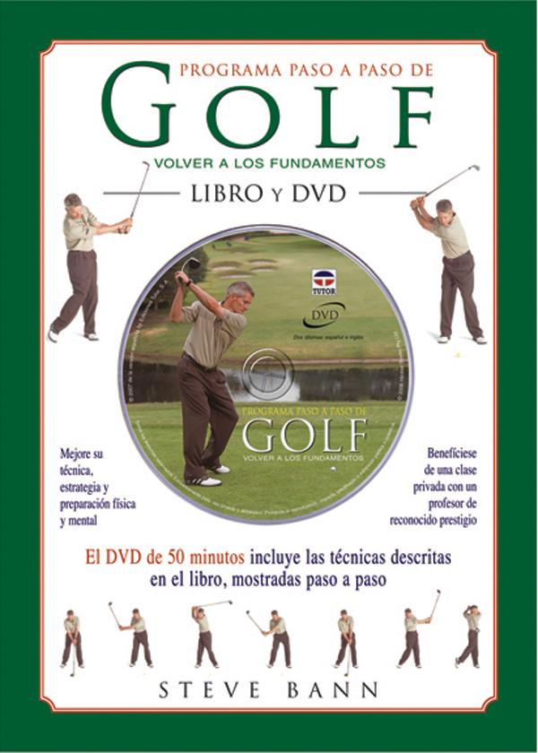 GOLF PROGRAMA PASO A PASO LIBRO + DVD