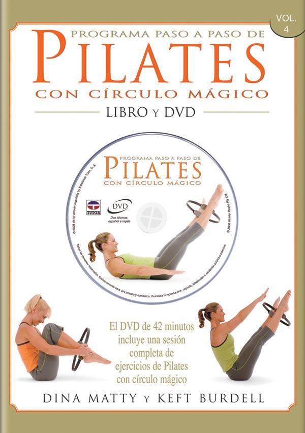PILATES CON CIRCULO MAGICO LIBRO Y DVD PROGRAMA PASO A PASO
