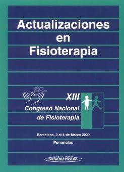 ACTUALIZACIONES EN FISIOTERAPIA. XIII CONGRESO NACIONAL DE FISIOTERAPI