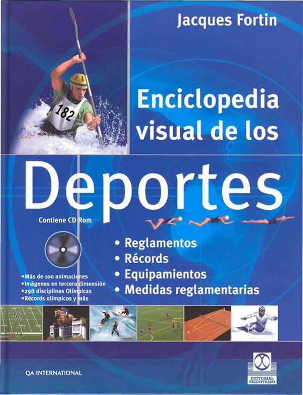 ENCICLOPEDIA VISUAL DE LOS DEPORTES (LIBRO + CD ROM)