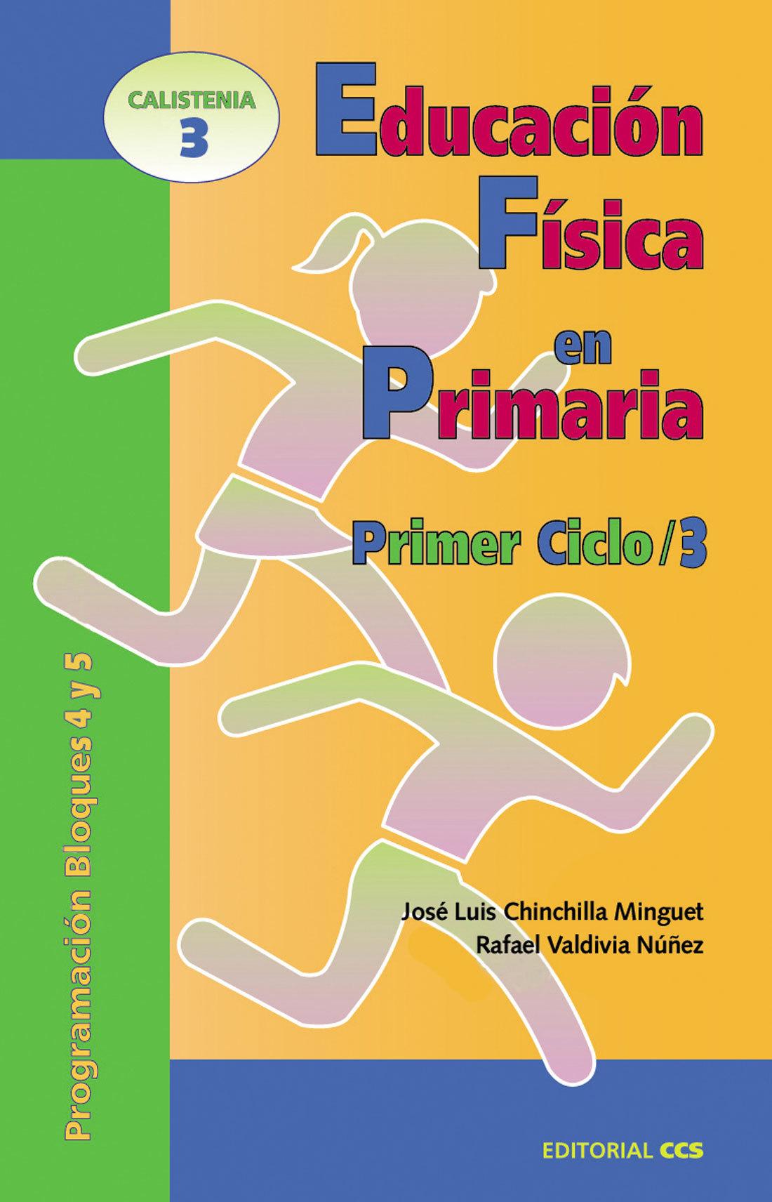 EDUCACION FISICA EN PRIMARIA. PRIMER CICLO 3