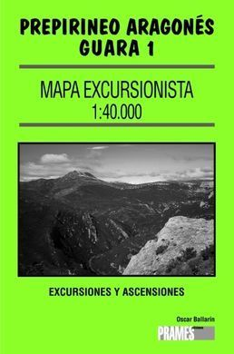 GUARA 1, MAPA EXCURSIONISTA 1:40000