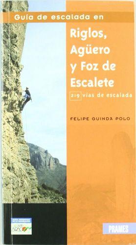 GUIA DE ESCALADA EN RIGLOS, AGÜERO Y FOZ DE ESCALETE 219 VIAS ESCALADA