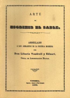 ARTE DE ESGRIMIR EL SABLE