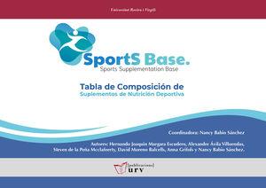 SPORTSBASE. TABLA DE COMPOSICIÓN DE SUPLEMENTOS DE NUTRICIÓN DEPORTIVA