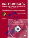 U. DIDACTICAS SECUNDARIA III LIBRO+DVD BAILES DE SALON