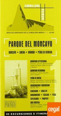 PARQUE DEL MONCAYO. MAPA 1:40.000