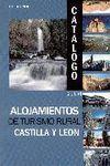 ALOJAMIENTOS DE TURISMO RURAL CASTILLA Y LEON CATALOGO 2004