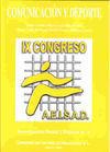 COMUNICACIÓN Y DEPORTE. IX CONGRESO