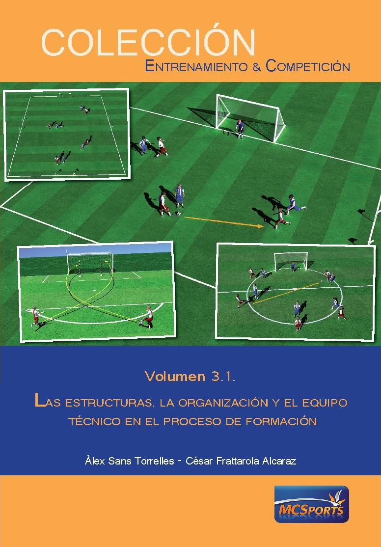 LAS ESTRUCTURAS, LA ORGANIZACIÓN Y EL EQUIPO TÉCNICO EN EL PROCESO DE FORMACIÓN VOLUMEN 3.1.