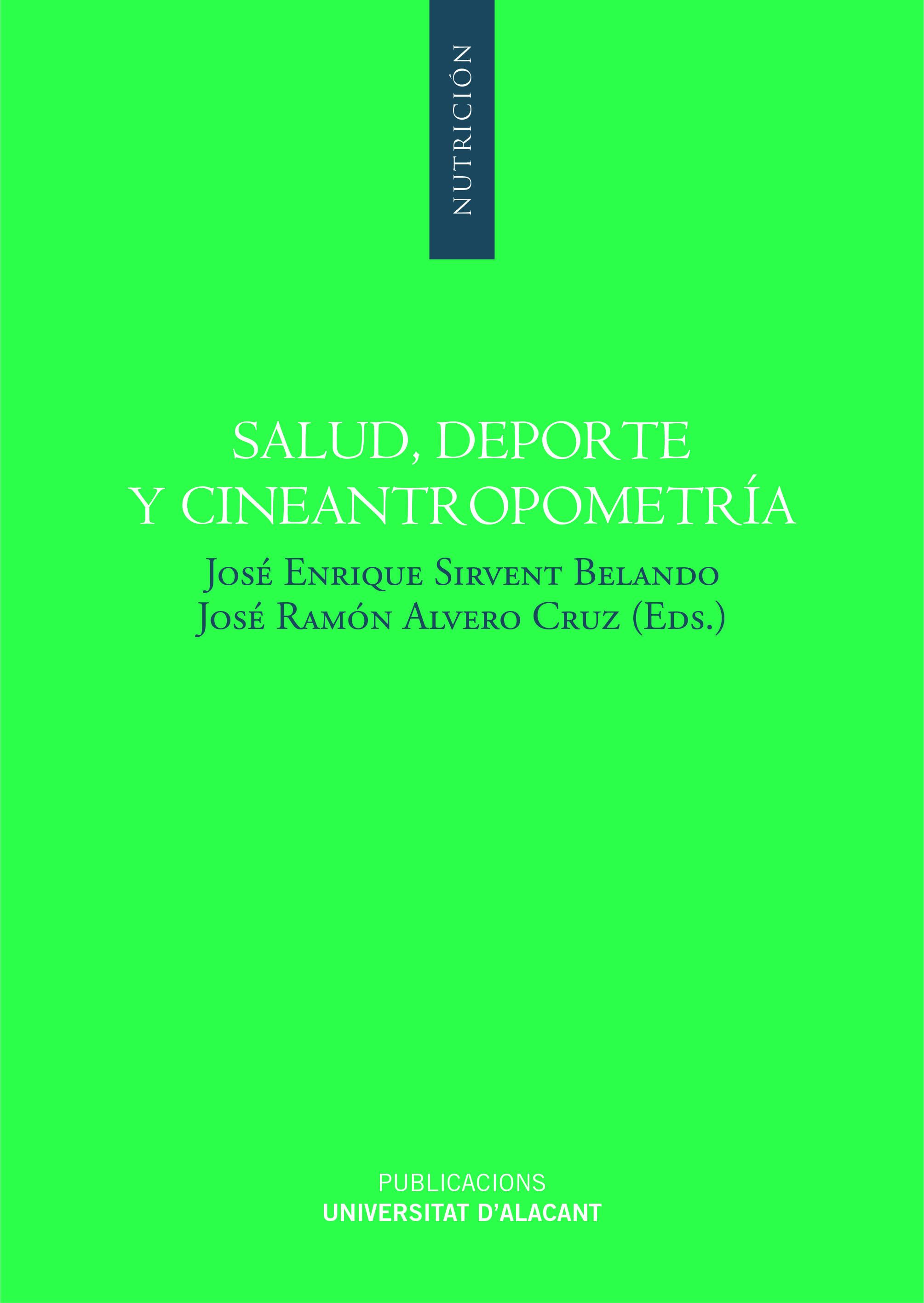 SALUD, DEPORTE Y CINEANTROPOMETRIA