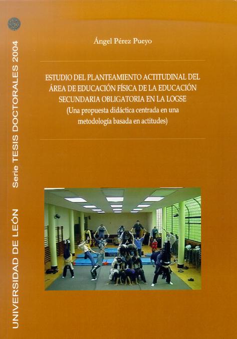 ESTUDIO DEL PLANTEAMIENTO ACTITUDINAL DEL ÁREA DE E.F. DE LA E.S.O EN