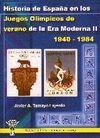HISTORIA DE ESPAÑA EN LOS JUEGOS OLÍMPICOS DE VERANO ERA MODERNA II