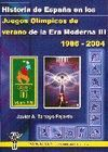 HISTORIA DE ESPAÑA EN LOS JUEGOS OLÍMPICOS DE LA ERA MODERNO III