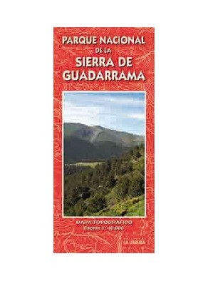 MAPA PARQUE NACIONAL DE LA SIERRA DE GUADARRAMA 1:40000