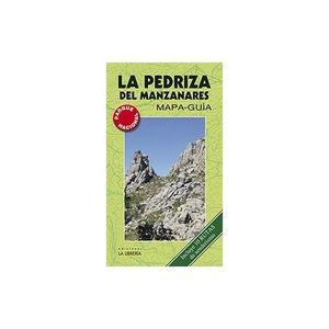 LA PEDRIZA DEL MANZANARES MAPA-GUÍA. INCLUYE 10 RUTAS DE SENDERISMO