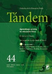 TÁNDEM 44. APRENDIZAJE SERVICIO EN EDUCACIÓN FÍSICA