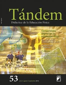 TÁNDEM 53. DIDÁCTICA DE LA EDUCACIÓN FÍSICA
