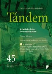 TÁNDEM 45: ACTIVIDADES FÍSICAS EN EL MEDIO NATURAL