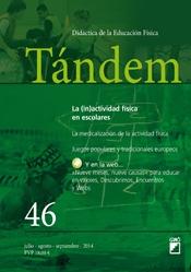 TÁNDEM 46: LA (IN)ACTIVIDAD FÍSICA EN ESCOLARES