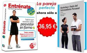 PACK ENTRENAMIENTO PERSONAL: ENTRÉNATE + MARKETING Y VENTA DEL ENTRENAMIENTO PERSONAL