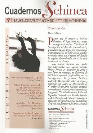 CUADERNOS ESTUDIOS SCHINCA Nº 1