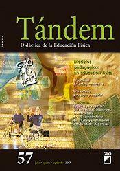 TÁNDEM 57. MODELOS PEDAGÓGICOS EN EDUCACIÓN FÍSICA