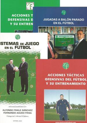 PACK TÁCTICA Y ESTRATEGIA EN EL FÚTBOL