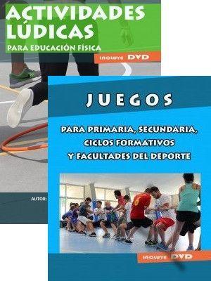 PACK JUEGOS ONPORSPORT: ACTIVIDADES LÚDICAS + JUEGOS PARA PRIMARIA, SECUNDARIA...
